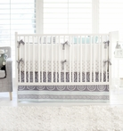 Harper in Aqua Crib Bedding Set