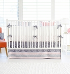 Harper in Coral Crib Bedding Set
