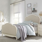 Harriette Victoria Upholstered Panel Bed