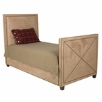 Harrison Twin Bed in Arizona Khaki