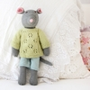 Harry Mouse Hand-Knit Organic Stuffed Toy