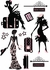 On Sale Haute Couture Wall Decals