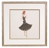 Haute Monde Framed Fashion Barbie Print