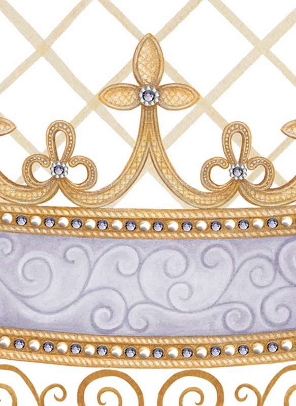 Haute Princess Crown Personalized Wall Hanging In Lovely