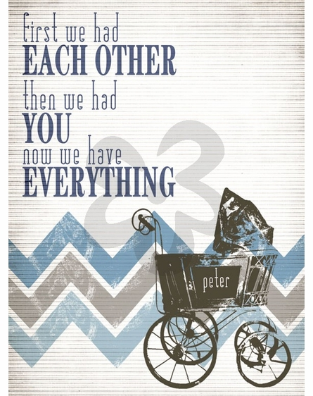 Have Everything Blue Framed Art Print