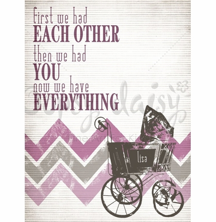 Have Everything Pink Canvas Wall Art