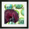 Have Pride in All You Do Framed Art Print