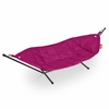 Headdemock Beanbag In Pink With Black Rack