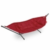 Headdemock Beanbag In Red With Black Rack