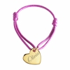 Heart Kids Bracelet in Gold Plated