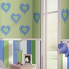 Heart of Hearts Dot Wall Decals - Blue