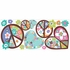 Heart & Peace Sign Giant Peel & Stick Wall Decal
