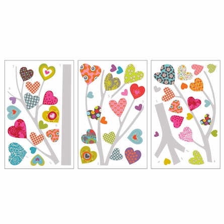Heart Tree Transfer Wall Decals