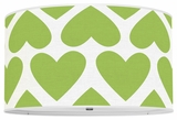 Hearts Apple Green