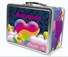 Hearts in the Clouds Personalized Lunch Box