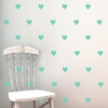 Hearts Wall Decal Set