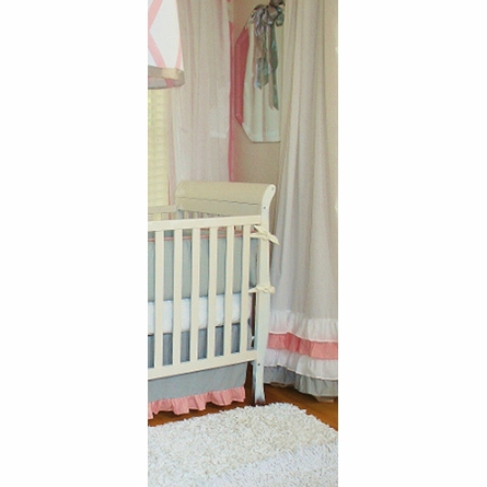 Heather Crib Bedding - 3 Piece Set