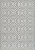 Heavenly Grey Geo Rug