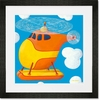 Helicopter Framed Art Print