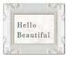 Hello Beautiful Decorative Framed Art Print