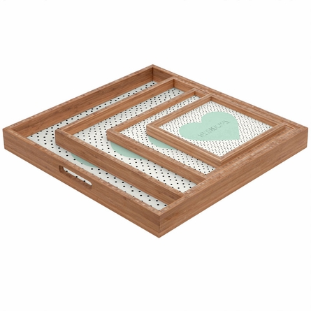 Hello Beautiful Square Tray