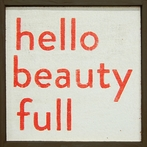 Hello Beauty Full Vintage Framed Little Art Print