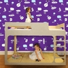 Hello Conversations Removable Wallpaper in Let's Talk Purple