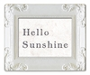 Hello Sunshine Decorative Framed Art Print