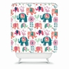 Helly Friends Shower Curtain