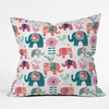 Helly Friends Throw Pillow