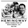 Hemingway Photo Personalized Self-Inking Stamp