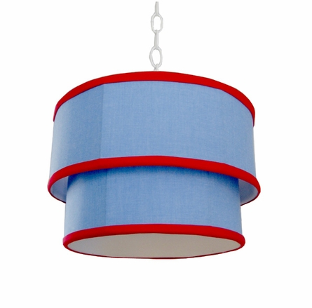 Henry Double Drum Pendant Chandelier