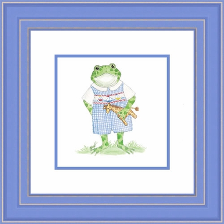 Henry Froggy Framed Lithograph
