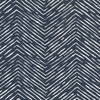 Herringbone - Navy Fabric by the Yard