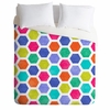Hexagon 2 Luxe Duvet Cover