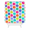 Hexagon 2 Shower Curtain