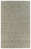 Hexagon Imprints Modern Rug in Light Brown