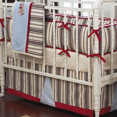 Hi Flyin' Monkeys Custom Crib Bedding Set