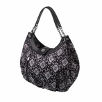 Hideaway Hobo Diaper Bag - London Mist