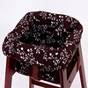 High Chair Cover in Brown Berry