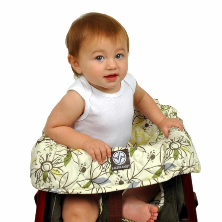 High Chair Cover in Retro Flower