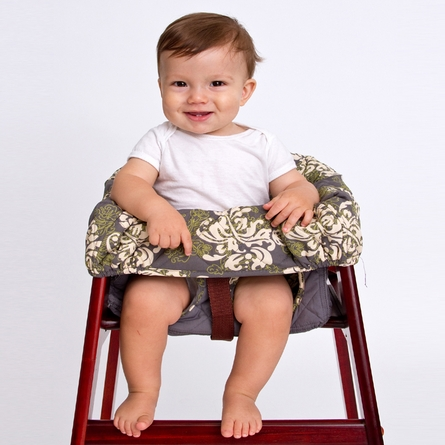 High Chair Cover in Swirl