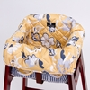 High Chair Cover in Yellow Floral