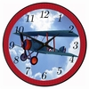 High in the Sky Airplane  Wall Clock