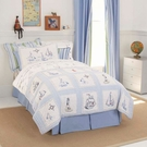 High Seas Printed Twin Duvet Cover