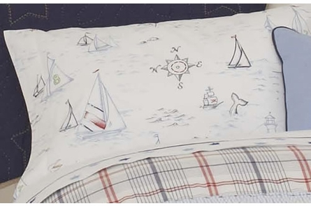 High Seas Standard Printed Sham