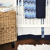 High Tide Crib Skirt