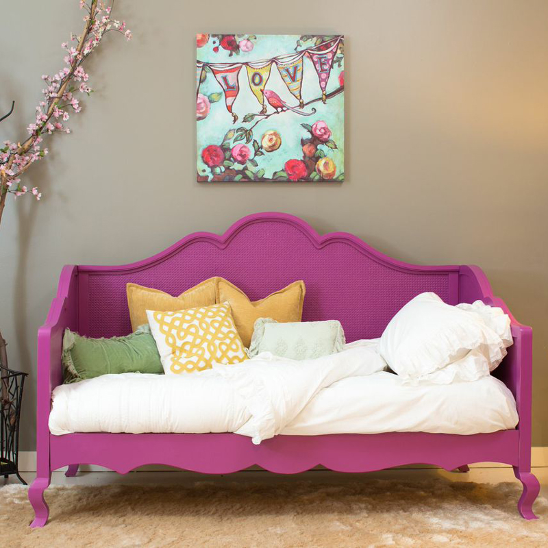 Hilary Twin Day Bed With Caning By Newport Cottages