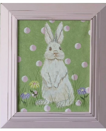 Hippity Hop Hand Painted Art