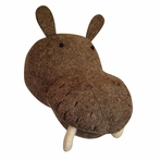 On Sale Hippo Head Faux Taxidermy